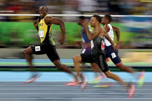 रियो ओलंपिक में उसेन बोल्ट
