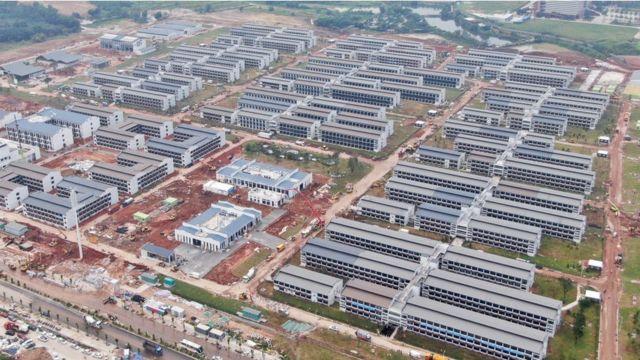 Construcciones en China