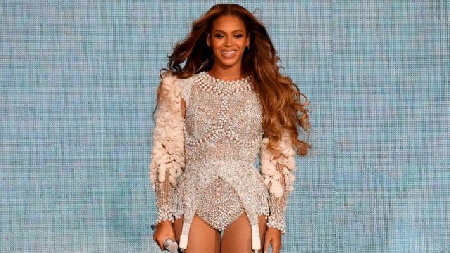 Beyoncé en un concierto.