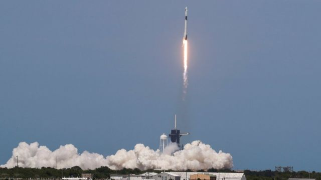 Despgue del Falcon 9