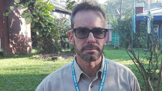 জন ম্যাককিসিক, কক্সবাজারে ইউএনএইচসিআর অফিসের প্রধান কর্মকর্তা।