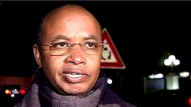Patrick Karegeya ari mu bashinze ishyaka RNC ritavuga rumwe n'ubutegetsi bw'u Rwanda, mu mwaka wa 2010