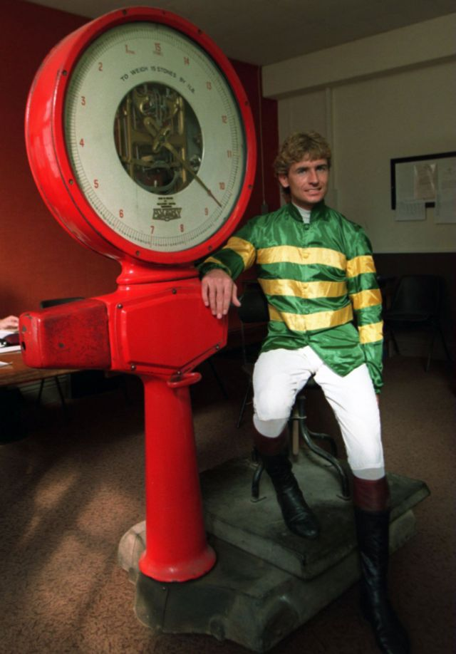 The jockey who raced again after reading his own obituary