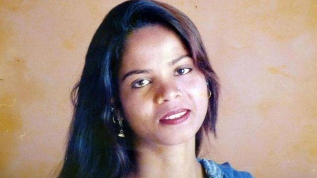 Asia Bibi, condenada a la pena de muerte en Pakistán por Blasfemia.