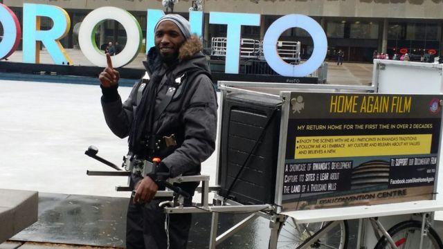 Kizito Musabimana yatangiriye urugendo mu mujyi wa Toronto