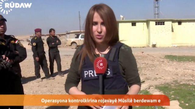 Mosul battle: Kurdish reporter Shifa Gardi killed in Iraq