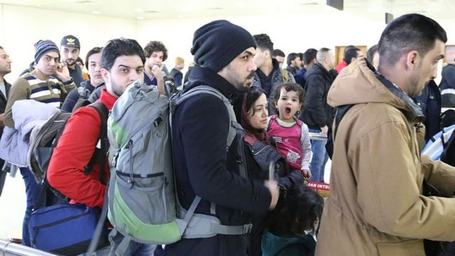 Imigrantes iraquianos na Finlândia