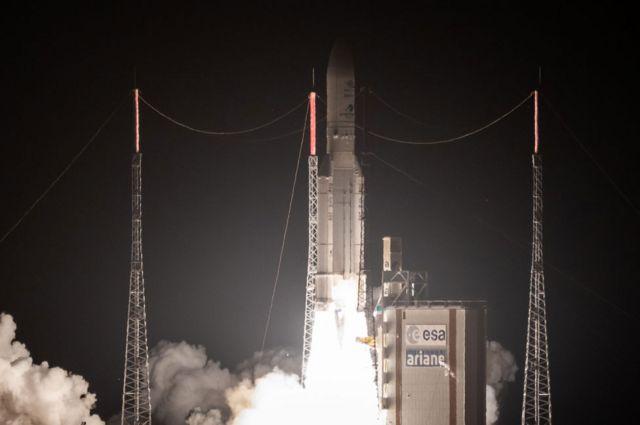 Lançamento da missão BepiColombo