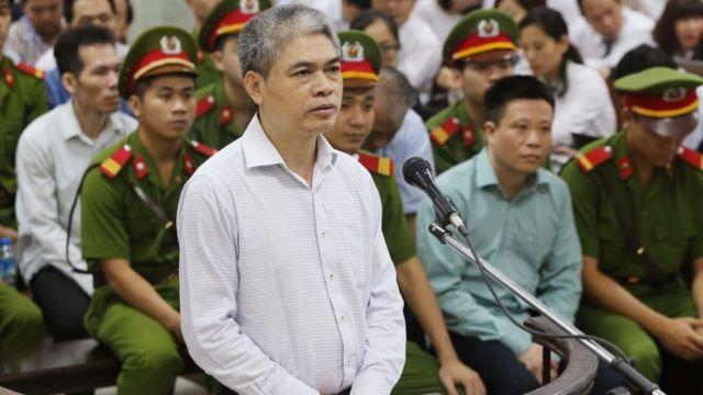Bị cáo Nguyễn Xuân Sơn bị tử hình nhưng đang chờ xem có được giảm án thành chung thân