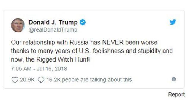 Hubungan kita dengan Rusia TIDAK PERNAH seburuk ini, terimakasih kepada bertahun-tahunnya kebodohan AS.