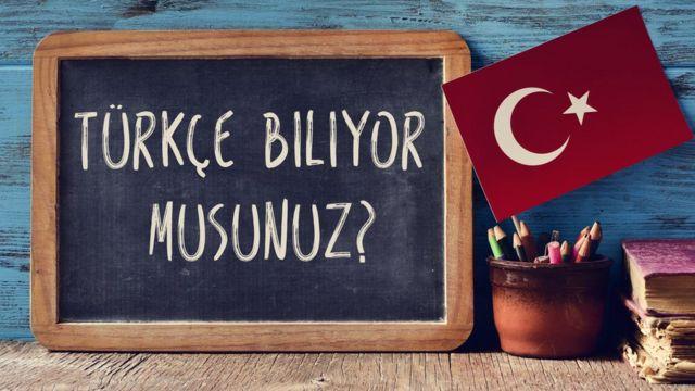 Cartel en turco