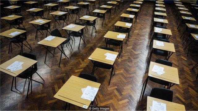 Mesas de escola