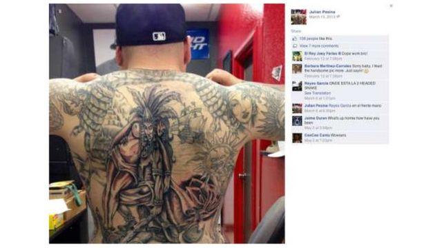 Página de FB de Julian Pesina