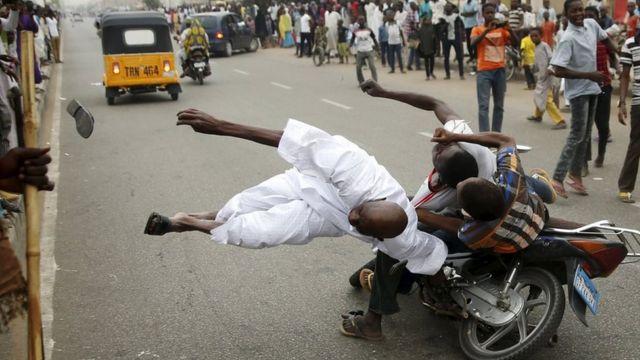 Yadda aka yi murna cin zaben Buhari a Kano.