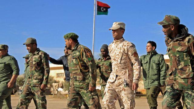 قوات حفتر تدعمها السعودية ومصر والإمارات