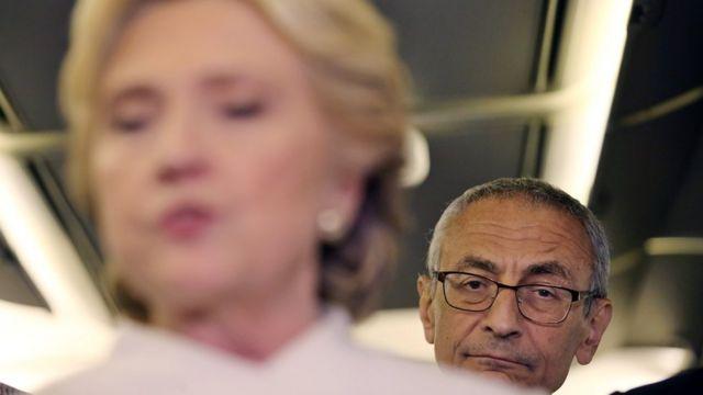 John Podesta və Hillary Clinton