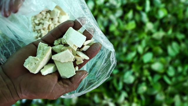 Cocaina en Colombia