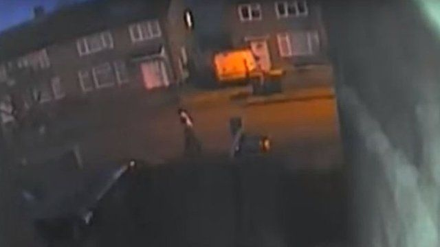 CCTV of Hemming Way on the Britwell estate
