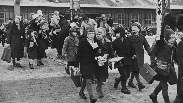 Дания принимала эвакуированных финских детей