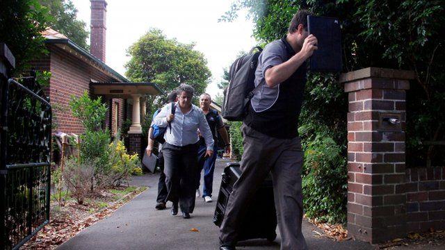 Australian tax investigators