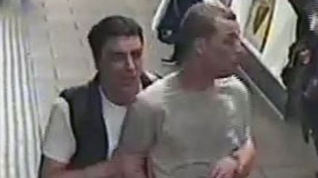 Police hunt two men after gas released on Tube at Oxford Circus