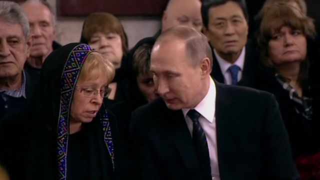 Putin və Marina Karlova