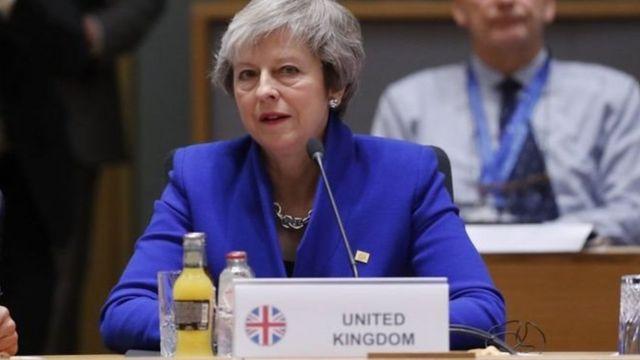 Praịm Mịnịsta mba Briten bụ Theresa May