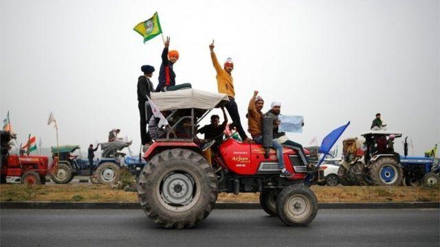 Peasant protest in India