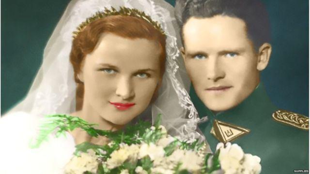 La foto de bodas de Noreika