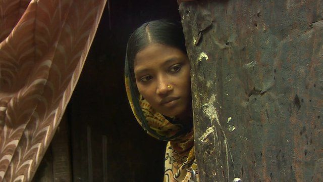 Child bride in Bangladesh