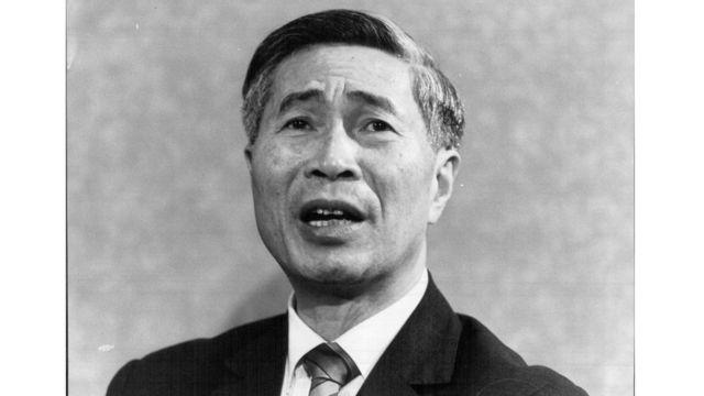Bộ trưởng ngoại giao Việt Nam Nguyễn Cơ Thạch năm 1984
