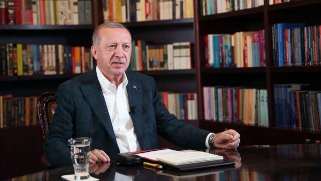 Erdoğan'ın gençlerle olan video konferansı YouTube'dan da yayımlandı