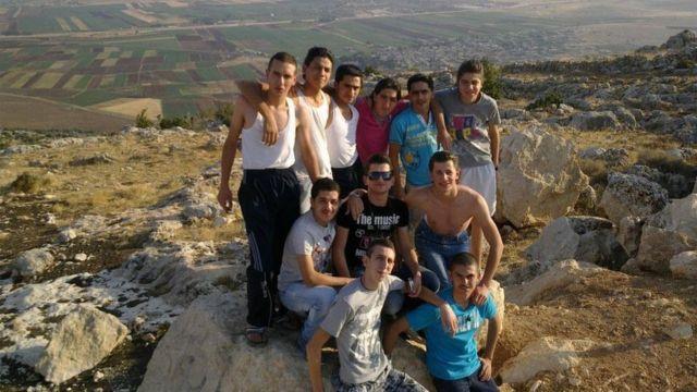 Hadi com amigos na Síria; nenhum deles permaneceu no país