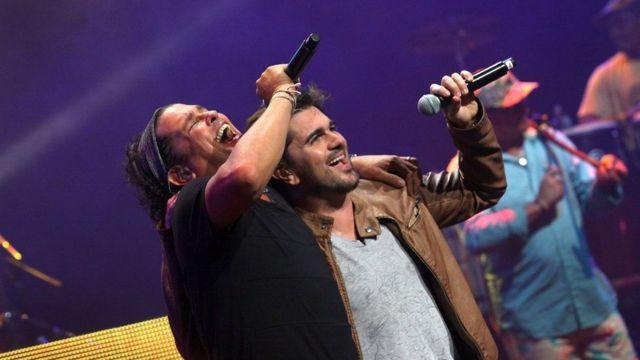 Kolombiyalı sanatçılar Juanes ve Carlos Vives 'Venezuela'ya Yardım Konseri'ne çıkacak sanatçılar arasında