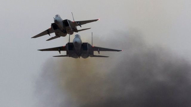 هواپیماهای اسرائیلی