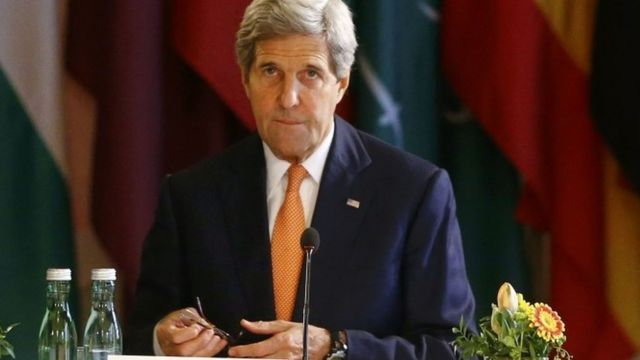 Umushikiranganji w' imigenderanire wa USA John Kerry