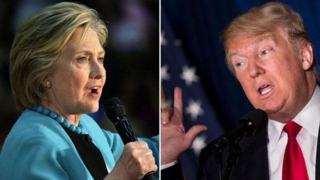 Clinton və Trump