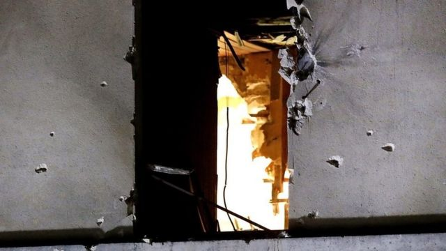 Window of flat in raid
