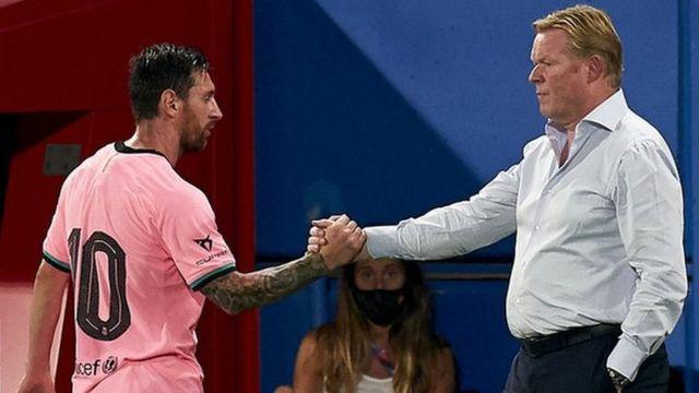 Ansu Fati a sensation and Lionel Messi scores on his Barcelona return