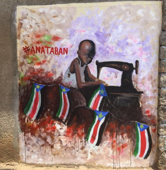 आर्ट प्रोजेक्ट, दक्षिणी सूडान