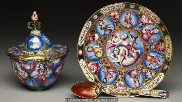 有人认为卡扎尔时期的艺术作品都趣味低级且浮夸。