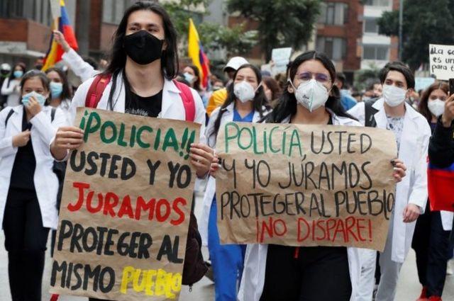 protestas contra la violencia policial