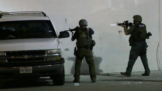 полиция в Далласе