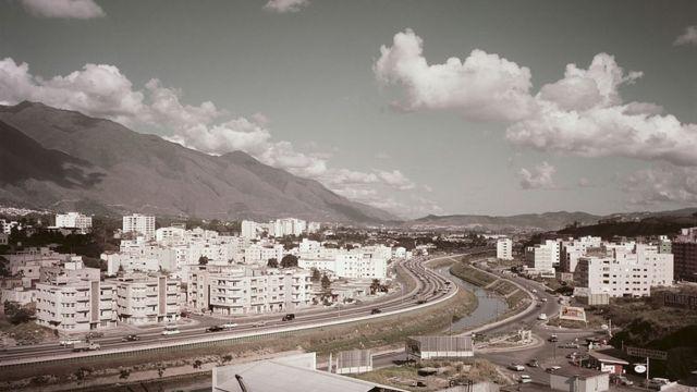Caracas alrededor de 1960.