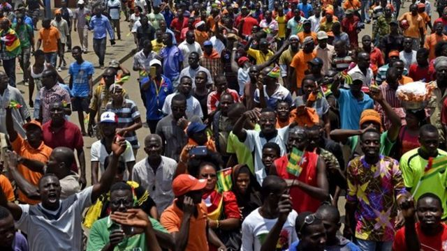 Protests for Lome