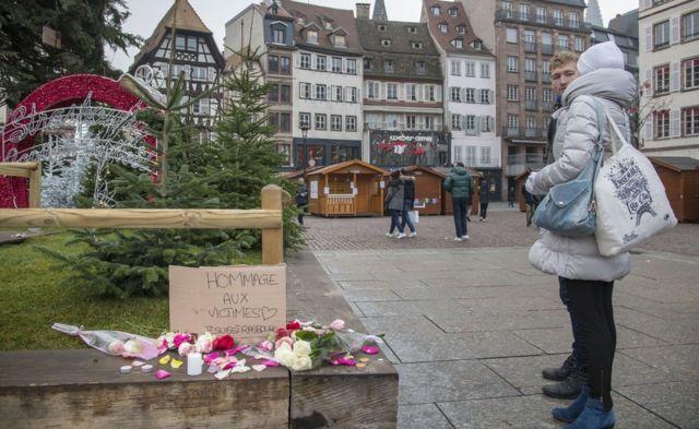 Цветы в Страсбурге