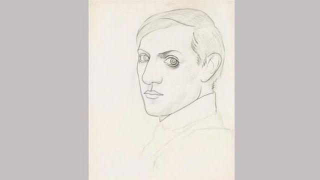 Auto-retrato de Picasso