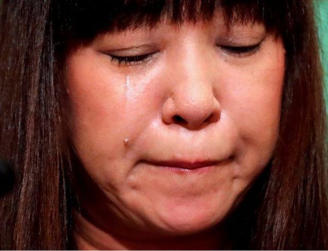 安田さんの妻、深結さんは、安田さん解放のため活動していた。写真は2018年8月撮影