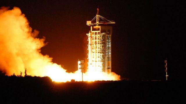 2016年8月,中国发射世界上首枚量子卫星