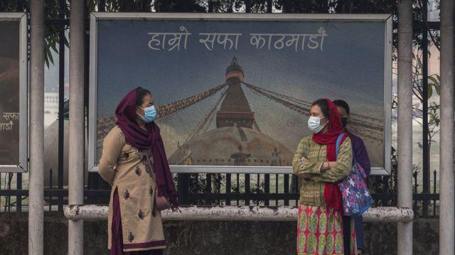 काठमाण्डू उपत्यकामा वायु प्रदूषण